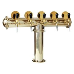 BDT-CT5V Tour de distribution de boissons Classic-T 5-valves