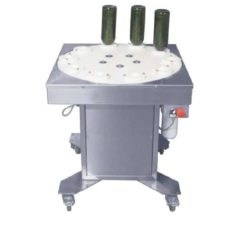 BWB-SA800 Semiautomatic bottle washer & blower