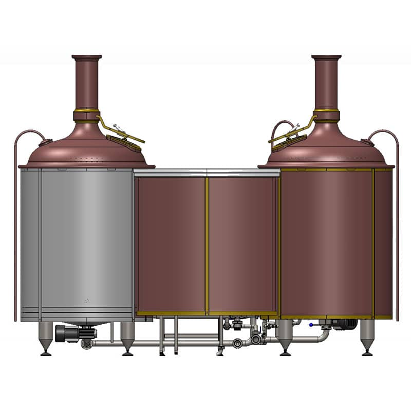 Brewhouse Breworx Classic 500 - rear view