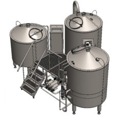 TRITANK 1000 : Wort brew machine