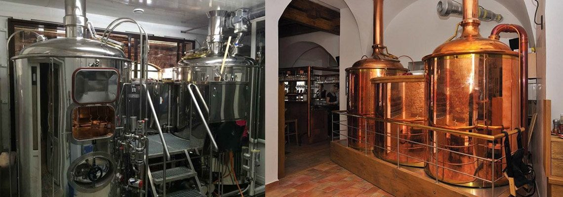 brewhouses - the beer wort machines