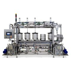 KWFL-60 Keg washing & filling line
