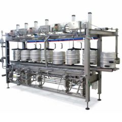 KWFL-120 Keg washing & filling line