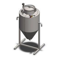 YSTP4G - Gistedrukopslagtank 40 liter
