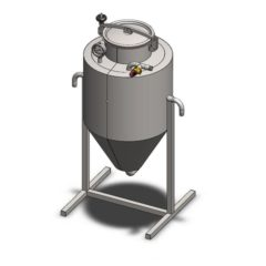 YSTP4G - Gæretryk opbevaringstank 40 liter