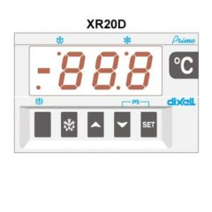 XR20D – Microprocessor temperature regulator