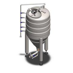 ИСТПКСНУМКСГ - резервоар за складиштење притиска квасца КСНУМКС литара