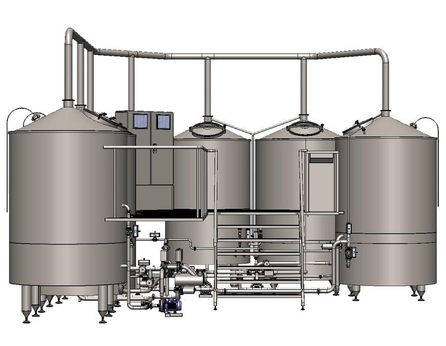 Wort brew machine OPPIDUM