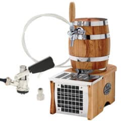 DBCS-B1 Small barrel : compact beer cooler / without compressor, 1/8 HP