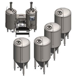 with fermenters 1200 L