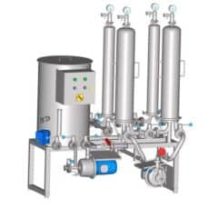 MFS-1 Microfiltration station 400-600 L/h with CIP