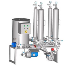 MFS - Micro-filtration stations