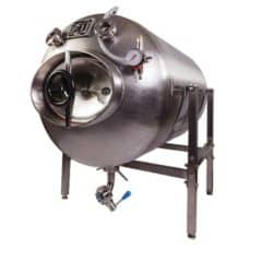 DBTHI-250S – Draft beer tank horizontal insulated stainless-steel