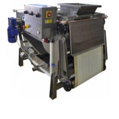 FBP-500P Fruit belt press 600 kg/hour with pump