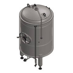 BBTVI-14000C Cylindrical storage tank, vertical, insulated 14000/15800L