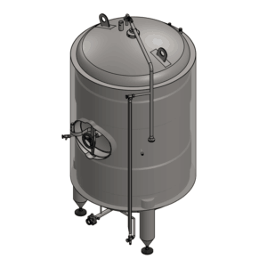 BBTVI - Serving tanks | Bright beer tanks : vertical, insulated