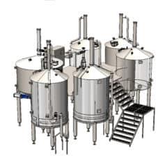 OPPIDUM-6000 : Wort brew machine