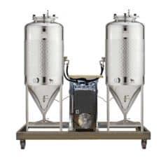 FUIC-SLP1C-2x1000CCT - Samohlađenu jedinicu za fermentaciju i zrenje 2 × 1000 / 1200 litre 1.2 bar