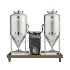 FUIC-SLP1C-2x250CCT - Samohlađenu jedinicu za fermentaciju i zrenje 2 × 250 / 295 litre 1.2 bar