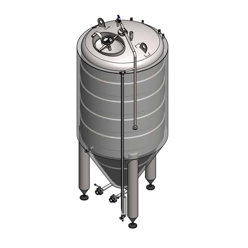 inhoud horizontale cilinder berekenen