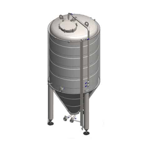 Cylindroconical tank CCT-C-HQ