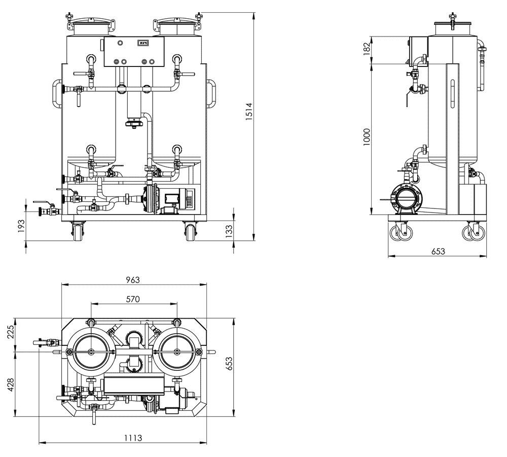 CIP-52 Dimensions