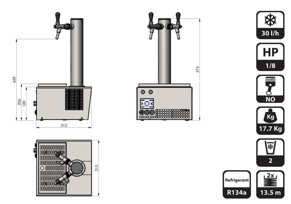 DBCS-ST25-dimensions