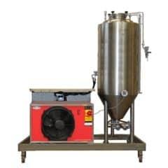 FUIC-CHP1CMLT-1x2000CCT Kompaktna fermentacijska jedinica 1 × 2000 / 2340 litre