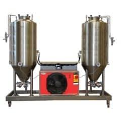 FUIC-CHP1CMLT-2x1500CCT Compact fermentation unit 2×1500/1740 liters