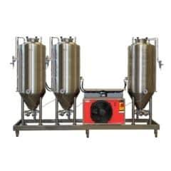 FUIC-CHP1CMLT-3x750CCT Compact fermentation unit 3×750/900 liters