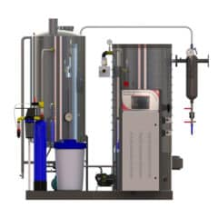 GSG-1000VPS Gas steam-generator 1000kg/hr – vertical package system