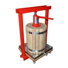 MHP-12W Manual hydraulic fruit press 12 liters wood