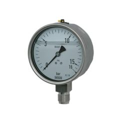 PF-GMAN12GM-SS Glycerine Manometer 0-6bar G1/2″M Stainless steel