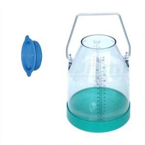 pyrex glas med låg