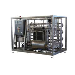 BFP-1000 Flow-through pasteurisator 1000 liter / uur