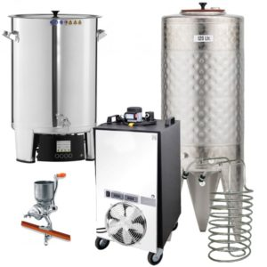 with fermenters 100 L