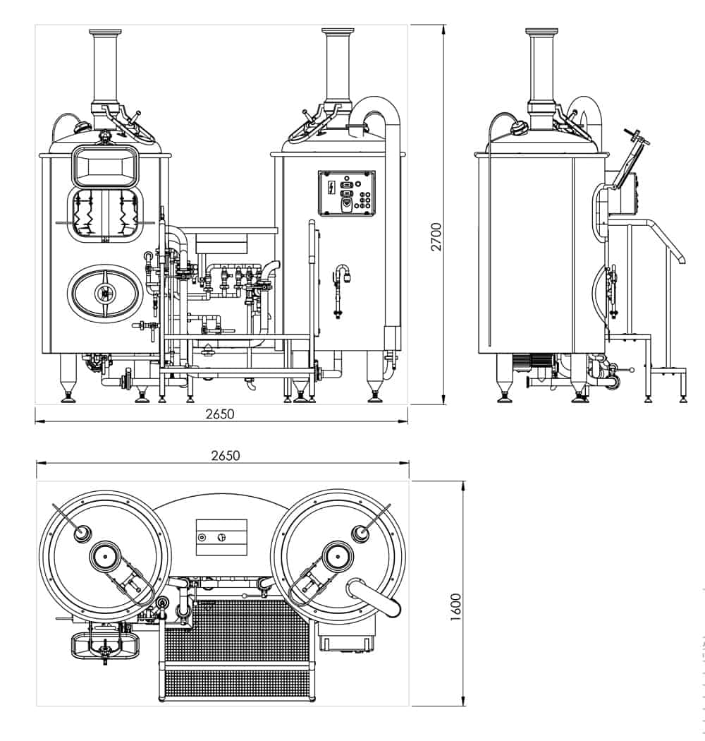 brewhouse-breworx-classic-300-dimensions