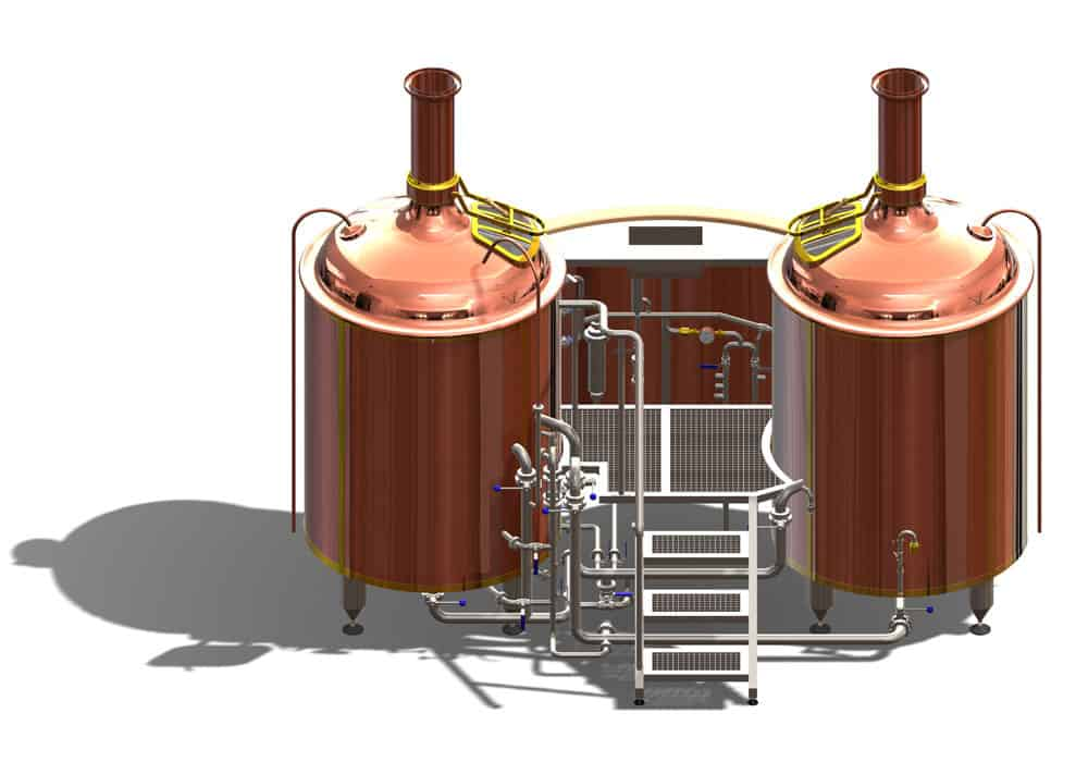 Wort brew machine BREWORX CLASSIC copper