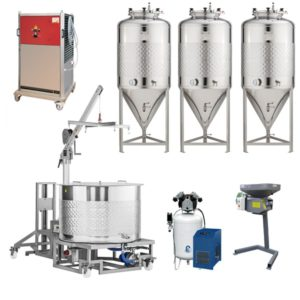 with fermenters 1000 L