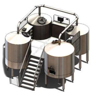 BWM-BQD - Wort brew machines QUADRANT