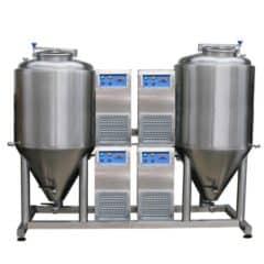 FUIC-CHP4C-2x1500CCT Compact fermentation unit 2×1500/1740 liters