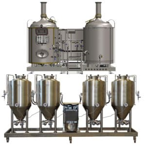 with fermenters 500 L