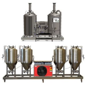 with fermenters 250 L