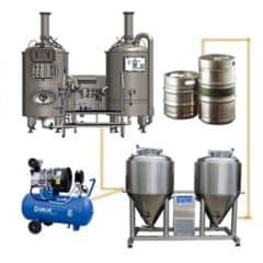 FUIC-CHP1C-2x500CCT Kompaktā fermentācijas vienība 2 × 500 / 600 litri