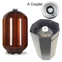 48xPETA-30USDA 48pcs Petainer Keg USD 30 lítear A-coupler