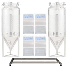 Main frame for FUIC 2xCCT with 4 coolers / up to 2000L