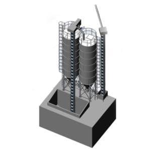 MSS - Malt storage silos