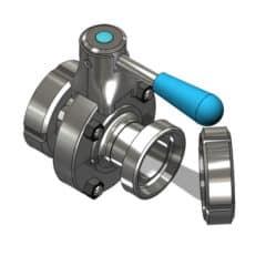 TEA-DVS-DN1515DC Disc valve DN15DC/DN15DC