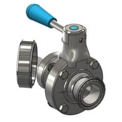 TEA-DVS-DN1515TD Disc valve DN15TC/DN15DC