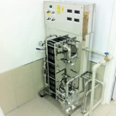 WCASB-1500 Compact cooler and aerator of wort 1500 liters per hour